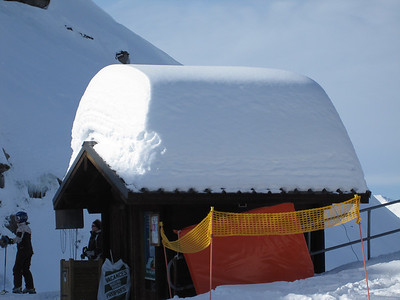 Evidence of the snow that had dallen this season up there - same vantage point as previous 2 pix