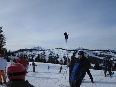 The pimply peak in the distance to the left of DCW on the skyline is known, we were told, as the