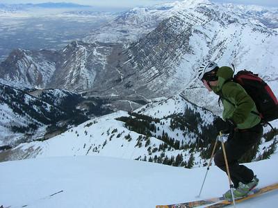Provo Peak_January 18 2010