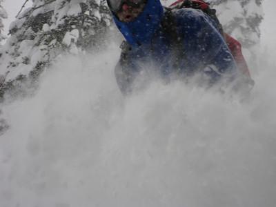 Pilot Peak_December 27, 2008