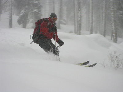 Pilot Peak_February 26 2009