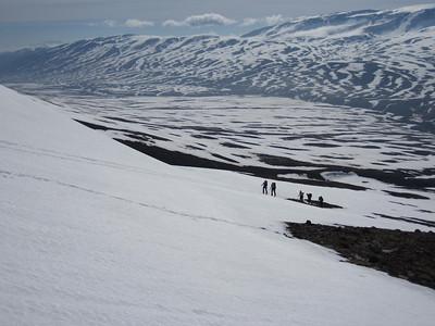 Horft út og suður Flateyjardal.