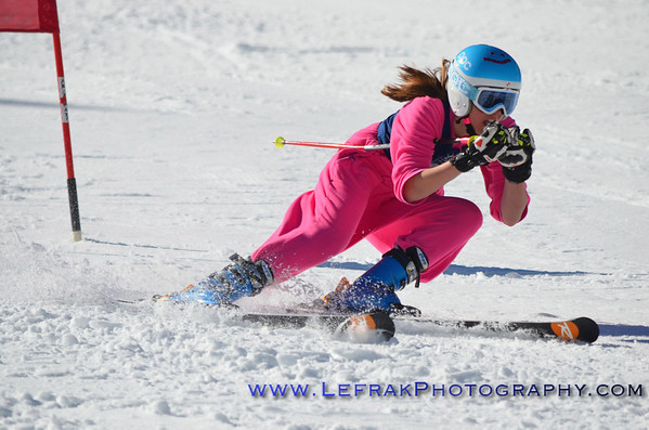 Francesca English 372 North Tahoe - Women's 5th place (sporting fashionable footie pajamas)