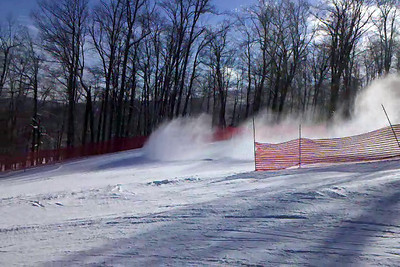 Harrison 1st run, GS course