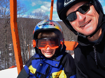 Family Ski photos