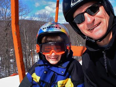 Family Ski photos