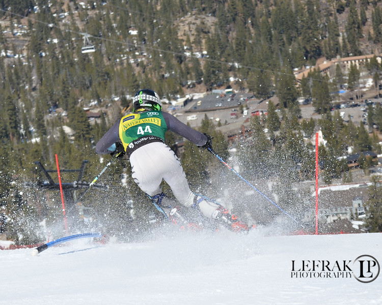 Bryce Astle - U.S. Alpine Championships at Squaw Valley 2013 Slalom