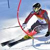 Tim Kelly - US Ski Team - slalom 1st run