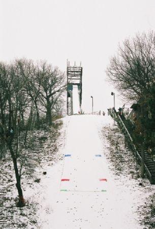 St Paul's 46 Meter Jump // Winter Ski Jumping