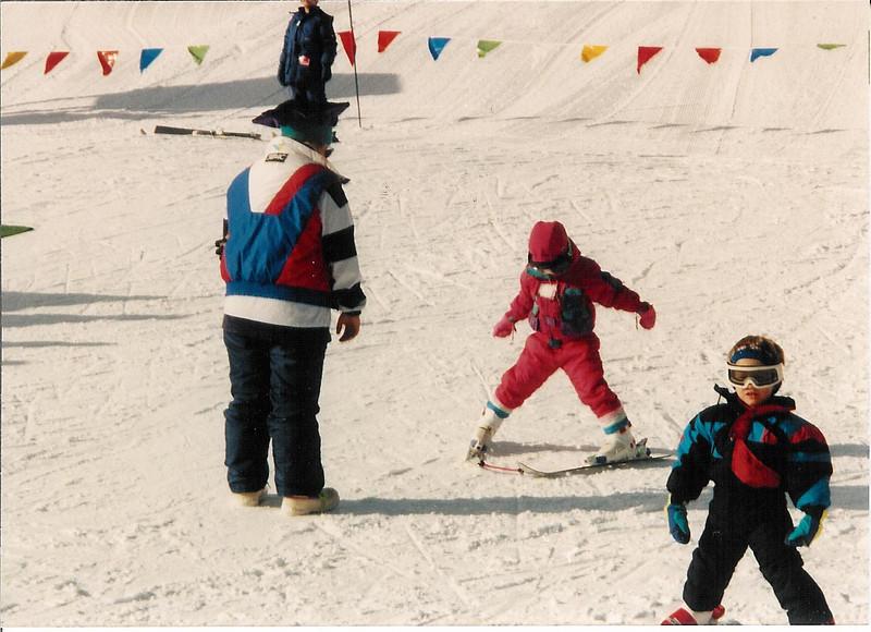 mandy, ski school