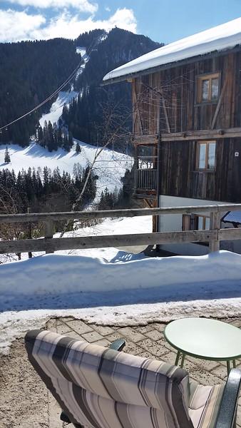 Lalena's house overlooking the slopes-La Villa