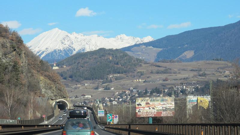Heading to the Dolomites
