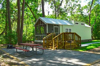 Camper Cabin at Skidaway Island