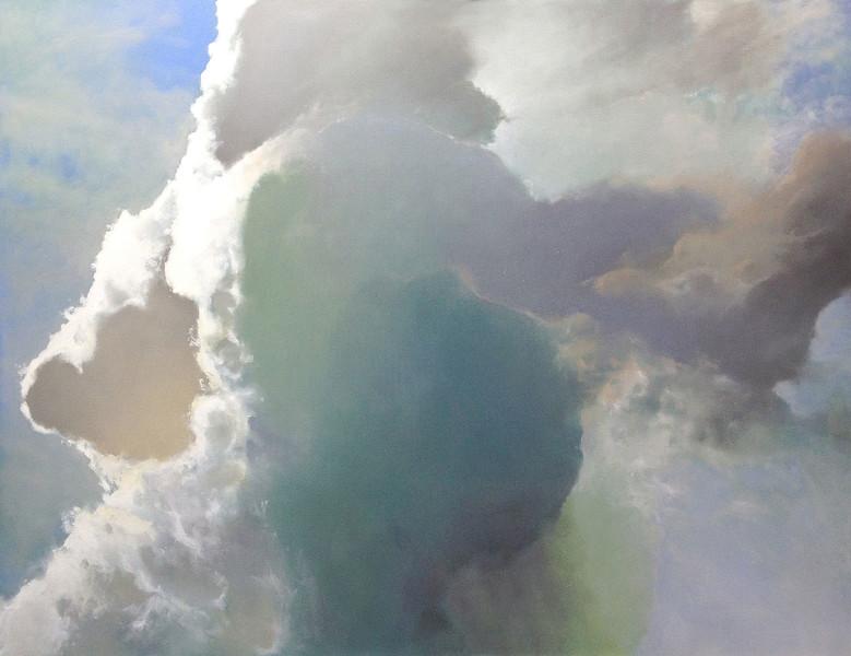 """Thunderhead"" (oil on canvas) by Cap Pannell"