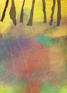 """In A High Autumn Spirit"" (mixed media) by Katarína Kalmanová"