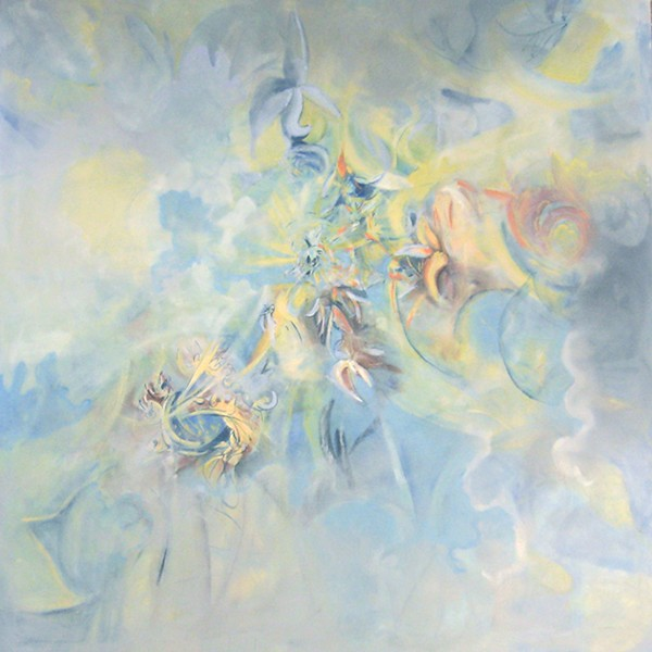 """Heaven Descending"" (oil) by Gay Cox"