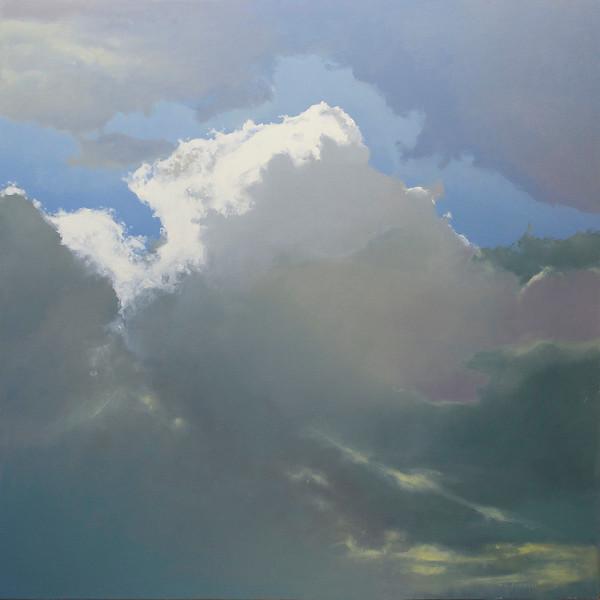 """Thunderhead 2"" (oil on canvas) by Cap Pannell"