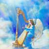 """Celestial music"" (oil on canvas) by Gabriel Lavoie"