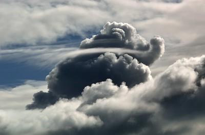 """Cloudscape#33 (Elephant)"" (photography) by Daniel Agra"