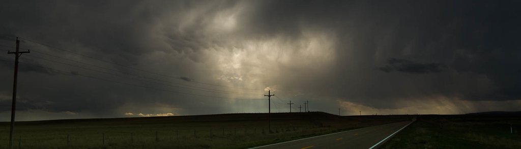 """""""Storm on the Plains"""" (digital photography) by Wil Scott"""