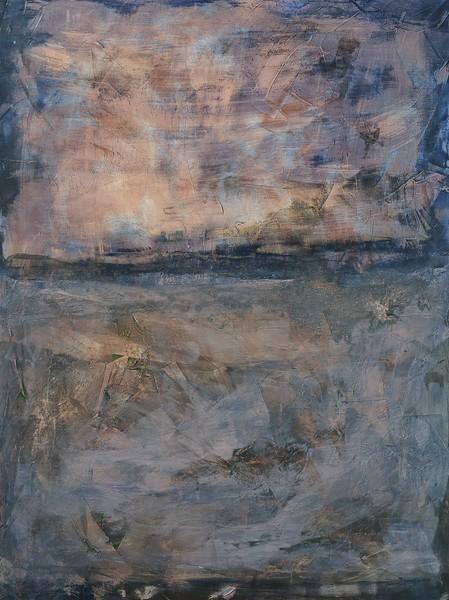 """Hurricane Watch"" (acrylic on canvas) by Scott Pogue"