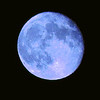 """Blue Moon"" (digital photography) by Kathy Brady"
