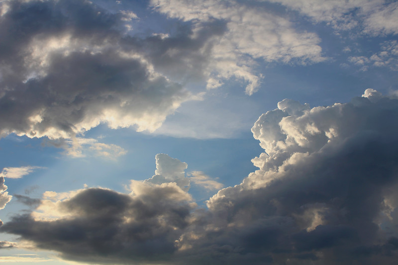 """""""Clouds"""" (photography) by Mei He"""