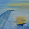 """Above the clouds..."" (oil on canvas) by Marina Ivanova"