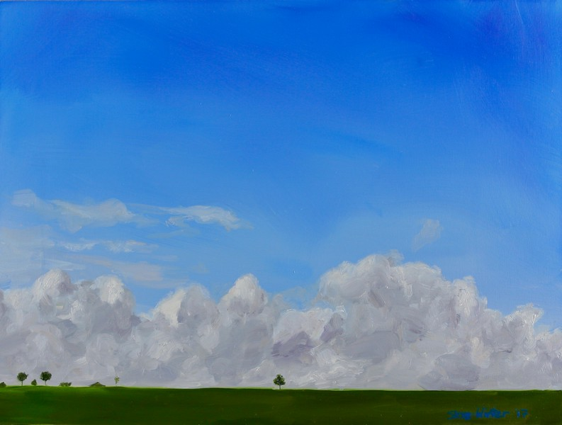 """Solo Tree"" (oil) by Skye Coddington"