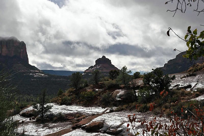 """Sedona Storm"" (digital photography) by Kathy Brady"