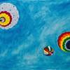 """Up!"" (oil on canvas) by Mariia Rykhlovska"