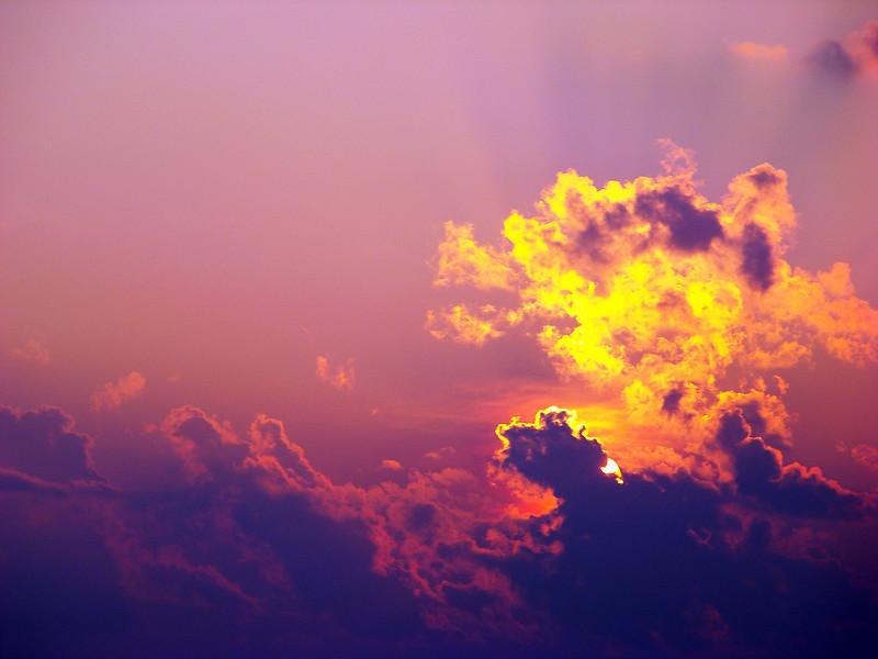 """Purple Sky"" (digital photography) by Kimberly Comalli"