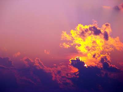 """Purple Sky"" (digital photography) by Kimberly Comalli"