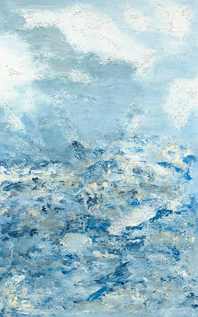 """Beaufort Blues"" (acrylic) by Becky Marshall"