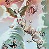 """Aspiration to Heaven"" (oil on canvas) by Murat Misakov"