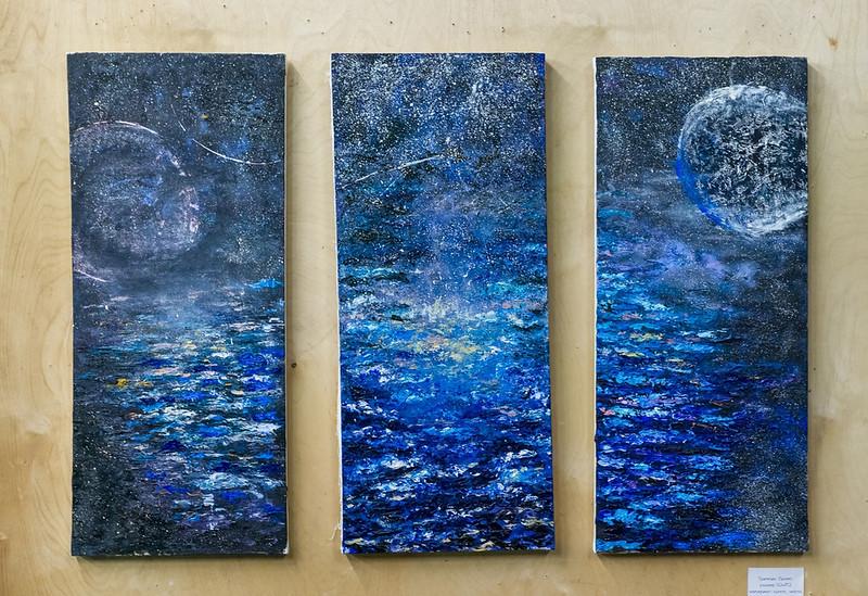 """flight"" (oil on canvas) by Kate Chaetskaya"