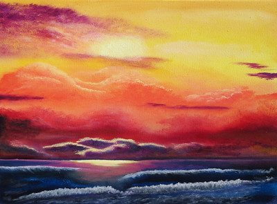 """""""Early Morning"""" (oil on canvas) by Eldon Case"""