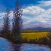 """Blue Danube"" (oil) by Rose Krauser"