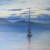 """Montreux"" (oil on canvas) by Inna Zubareva"
