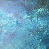 """""""She Reached Beyond the Stars"""" (acrylic on canvas) by Jenny Marie Wurz"""