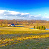 """Birchrunville Farm, Chester County - Panorama"" (photography) by Stephen Smith"