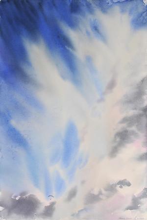 """Soar"" (watercolor) by Nataliya Protchenko"