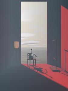 """Good Night"" (digital) by Yakun Chen"