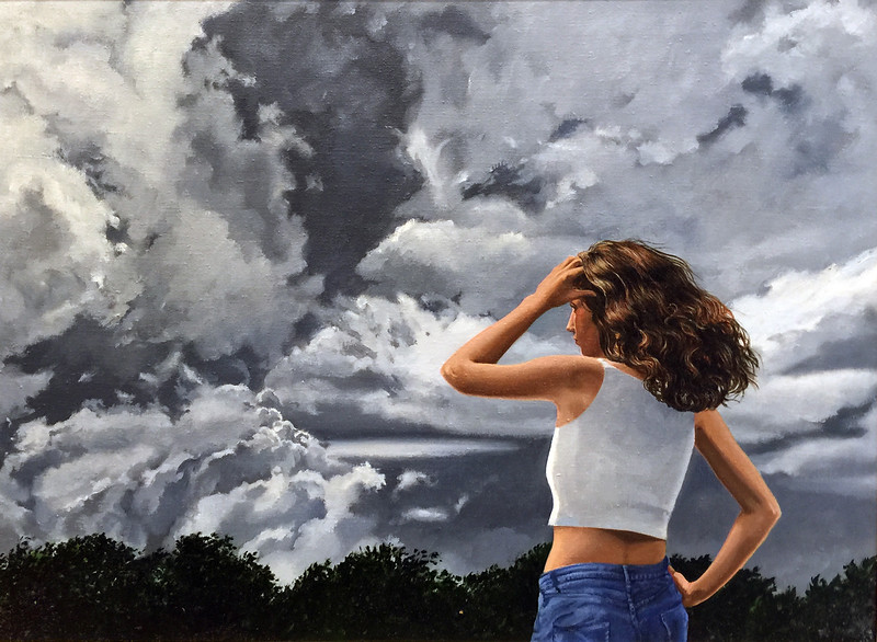 """""""Storm Warning"""" (oil on linen) by Susan La Mont"""