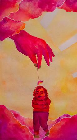 """Cup of Happy vol. 2"" (watercolor) by Keelan Braswell"