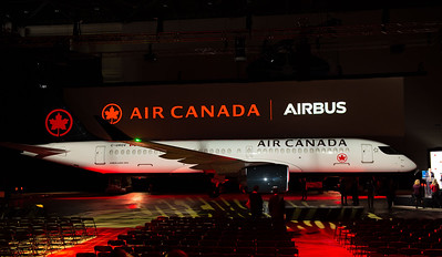 Air Canada-Air Canada Celebrates the Arrival of its First Airbus