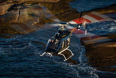Peter Handley, Bell 407GXi, Bell