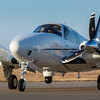 Ground photography of the Beechcraft Baron G-58 ISR (Intelligence, Surveillance ad Reconnaissance) aircraft.<br /> Wichita, KS  USA