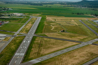 Montreal-Saint Hubert-Longueuil Airport recently resurfaced its main runway, a key step toward building the facility into a secondary option for travellers in the Montreal region. CYHU Photo