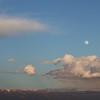 Moon over Book Cliffs